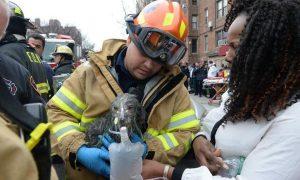 Tùng Lộc Pet – Giải cứu chú chó 3 tháng tuổi mắc kẹt trong đám cháy